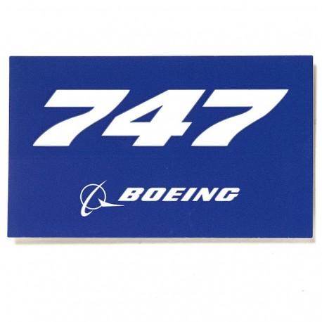 Autocollant Boeing 747