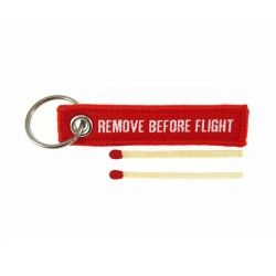MINI PORTE CLE REMOVE BEFORE FLIGHT