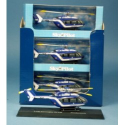 EC145 Gendarmerie mini helicoptere metal 1/100 New Ray