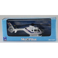 EC135 SAMU mini helicoptere metal F-GMHE 1/100 New Ray