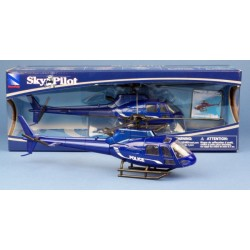 AS350 Ecureuil B2 Police 1/43 NR26093A NEW RAY