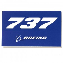 Autocollant Boeing 737