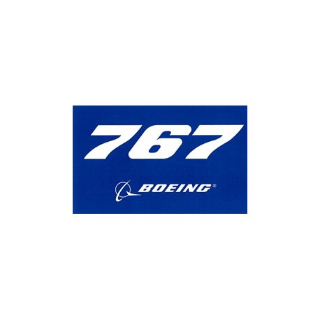Autocollant Boeing 767
