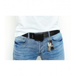 CEINTURE AVION HOMME FULL BLACK