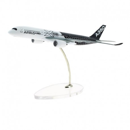 A350 MAQUETTE EXCLUSIVE AIRBUS LIVREE CARBONE 1/400