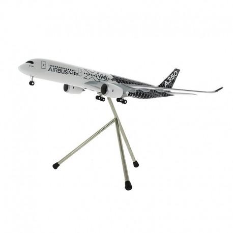 A350 XWB MAQUETTE EXCLUSIVE AIRBUS LIVREE CARBONE 1/200