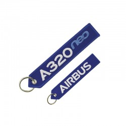 """PORTE CLE AIRBUS A320 NEO  """"REMOVE BEFORE FLIGHT"""""""