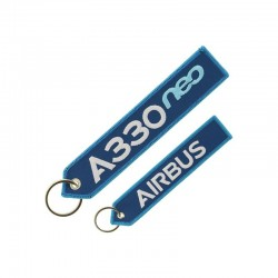 "PORTE CLE AIRBUS A330 NEO  ""REMOVE BEFORE FLIGHT"""