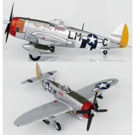 P-47D Thunderbolt Capt F.Christensen 62FS/56FG 1/48 HOBBYMASTER