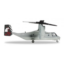"USMC Bell/Boeing MV-22 Osprey - VMM-264 ""Black Knights"" Herpa Wings 1/200"