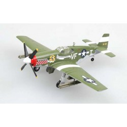 P-51B Mustang USAAF Cpt Don Gentile 336th FS 4th FG EASY MODELS 1/72