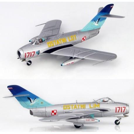Mig 17F (LIM-5) 45th Experimental Aviation Squadron 1993 HOBBYMASTER 1/72 HA 5905