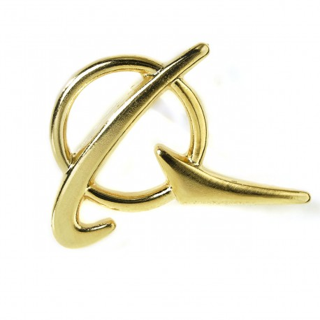 Pins symbole Boeing Couleur Or