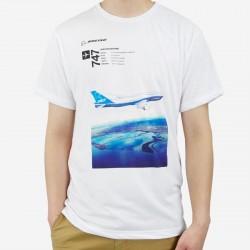 T-Shirt Boeing Endeavors 747-8