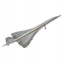 Concorde en métal poli 1/200