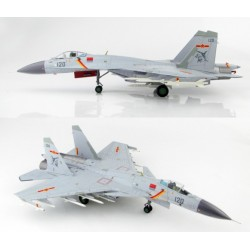 Shenyang J-15 Flying Shark Aircraft Carrier Liaoning, 2017 HOBBYMASTER 1/72 HA6402