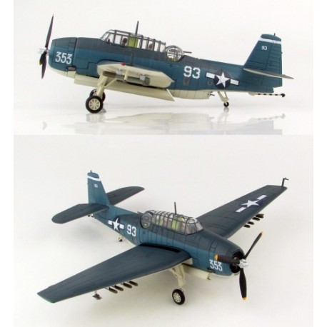 TBF-1C Avenger VT-15, USS Essex 'Battle of Leyte' HOBBYMASTER HA1222