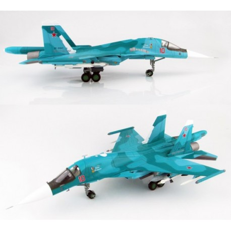 Sukhoi Su-34 Fullback Oleg Peshkov Commemorative Scheme 2016 HOBBYMASTER 1/72  HA6303