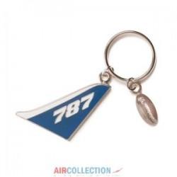 Porte clé Tail Boeing 787