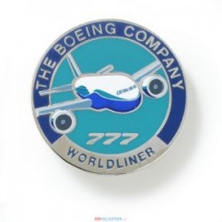Pins Boeing Rond 777 S1