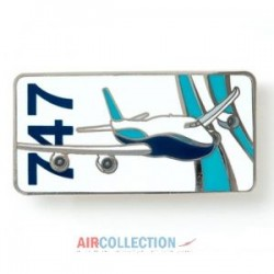 Pins Boeing - Blue Ribbon 747 -S10