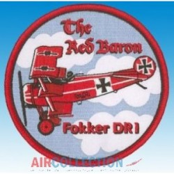 "Patch Fokker DR1 ""The Red Baron"""