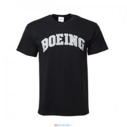 T-Shirt Boeing Varsity Noir