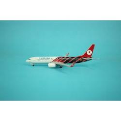 "Turkish Airlines Boeing B737-800 ""Manchester Unitec"" TC-JFV 1/400 Phoenix"