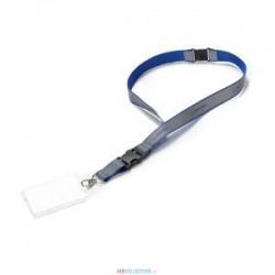 Tour de cou avec badge BOEING Reflective Strap bleu
