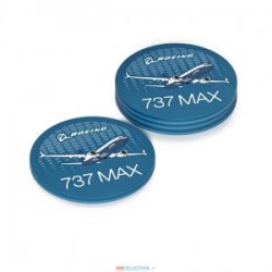Coaster Set - Dessous de table 737 Max