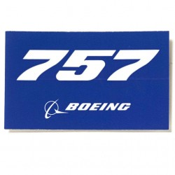 Autocollant Boeing 757