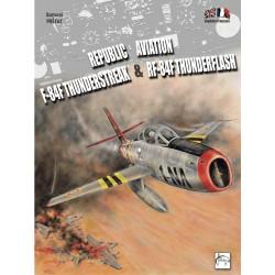 Livre F-84F et RF-84F