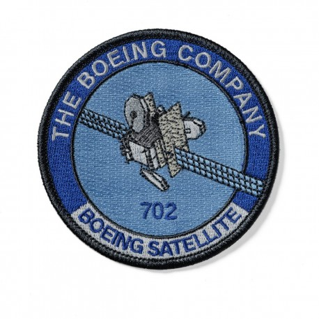 PATCH BOEING SATELLITE 702 S11