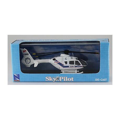 EC135 SAMU mini helicoptere metal F-GMHE 1/100 New Ray