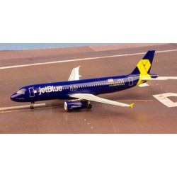 JetBlue Airbus A320 N775JB Veterans in Blue Aéroclassics 1/400