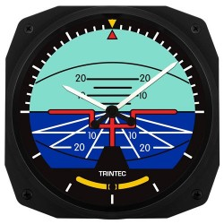 Artificial Horizon Wall clock 25x25cm Horloge horizon artificiel