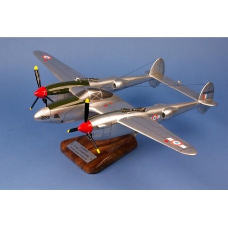 P-38/F.5B Ligthning GR 2/33 Savoie St Exupéry 1/35