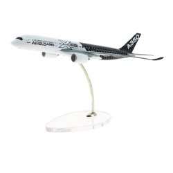 A350 MAQUETTE EXCLUSIVE AIRBUS LIVREE CARBONE 1/400