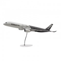 A350 XWB MAQUETTE EXCLUSIVE AIRBUS LIVREE CARBONE 1/100