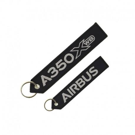 """PORTE CLE AIRBUS A350 XWB  """"REMOVE BEFORE FLIGHT"""""""