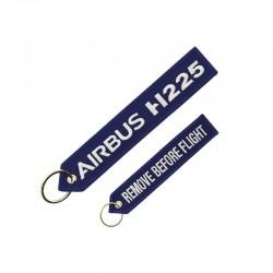 PORTE CLE AIRBUS H225  BLEU