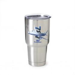 Mug Isotherme graphique en acier inoxydable 787 DREAMLINER