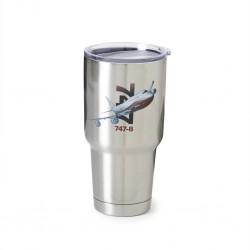 Mug Isotherme graphique en acier inoxydable 747-8