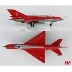"Mig 21PFM ""Aerobatic Team"" CCCP Kubinka AFB1967  HOBBYMASTER 1/72"