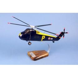 Sud Aviation HSS-1 Seabat Marine BOIS 1/40