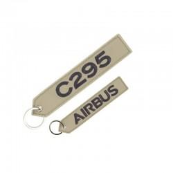 PORTE CLE AIRBUS  C295 BEIGE