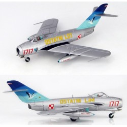 Mig 17F (LIM-5) 45th Experimental Aviation Squadron 1993 HOBBYMASTER 1/72 HA 5905