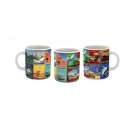 Mug Air France Patchwork