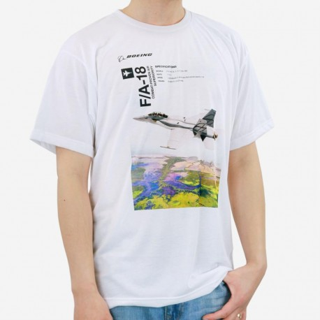 T-shirt Boeing Endeavors F / A-18
