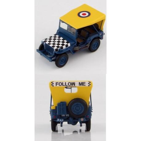 Jeep Willys RAF 'Follow me' HOBBYMASTER 1/48 HG1613